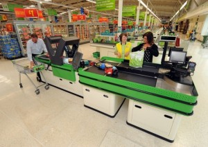 Asda trials 360-degree rapid scan till from Wincor Nixdorf in York superstore