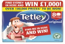 Tetley launches £1.7m multi-media campaign with 'Find Sydney' mechanic
