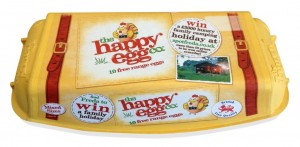 Ethical egg producer, the happy egg co., launches biggest on-pack promotion