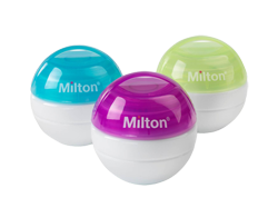 Milton to make TV advertising debut for new mini, portable soother steriliser
