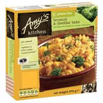Amy's Kitchen extends free from range with two new lines in Sainsbury's stores
