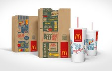 McDonald's rolls out new packaging design featuring QR codes around the world