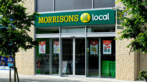 Morrisons: targeting 500 stores