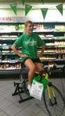 Blakemore Retail Aberystwyth raise £5,681.00 for ChildLine with pedalling challenge