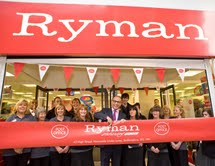 Ryman rekindles Post Office relationship and opens fifth branch with counter services