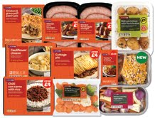 Spar UK relaunches own brand Winter Warmers ready meals range and vegetable sides