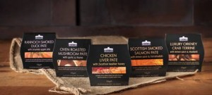 New packaging highlights provenance of Castle MacLellan premium Scottish Pâtés