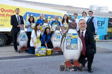 Heron Foods raises money to protect penguins in charity work for Hull aquarium