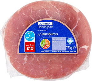 L to r:  gammon, coffee and Cheddar are the most stolen food items from UK stores