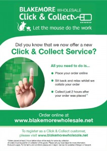 Blakemore Wholesale launches Click & Collect service in seven cash & carry depots
