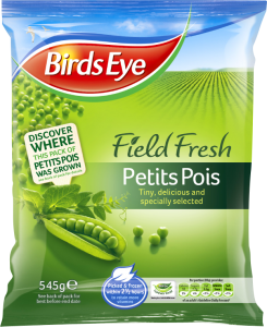 Birds Eye helps customers mind their peas with Petits Pois traceability facebook app