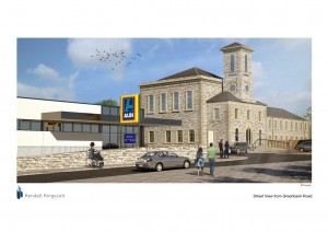 Aldi secures store on former Plymouth prison site, alongside student accommodation