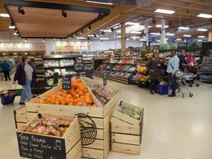Fresh foods focus seen here in Faringdon