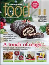 The Co-operative Food releases Christmas edition of magazine with festive recipes