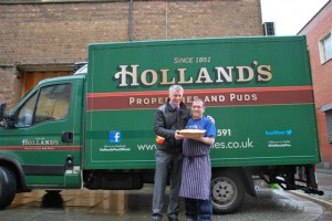 Holland's Pies provides Mustard Tree charity with festive pies