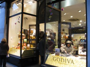 Belgian chocolatier, Godiva, manages UK social media with Kitch
