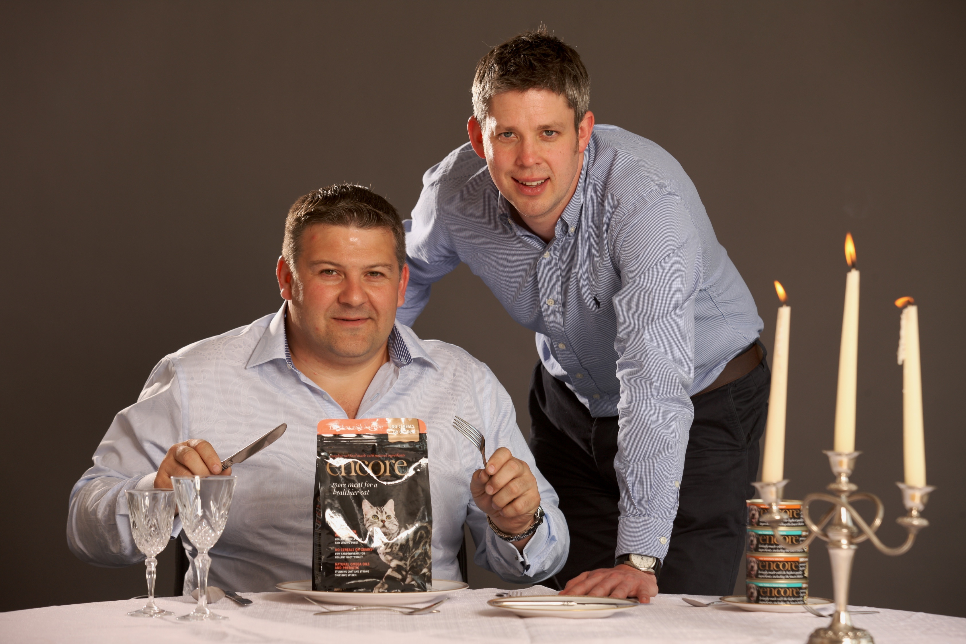 Julian Bambridge and James Bracewell of MPM Products