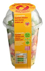 The Co-operative Food to introduce shaker salad pots and relaunches pasta range