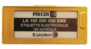 Pricer installs its 100 millioneth Electronic Shelf Label (ELS) at E. Leclerc store