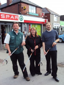 Spar store in Stannington, Sheffield, partners community group to keep locality clean