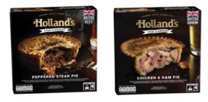 Holland's Pies launches two pies in chilled Pub Classics range