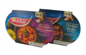Birds Eye launches two frozen ready meal curries in stand-up packs
