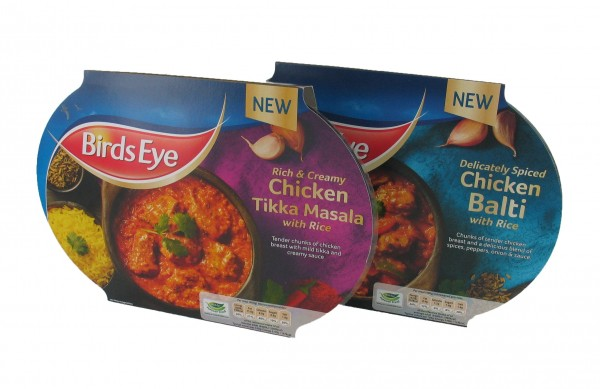 New frozen curries