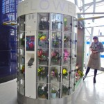 Flower lockers: an innovative, new vending solution, which could be adapted for other gifting sectors