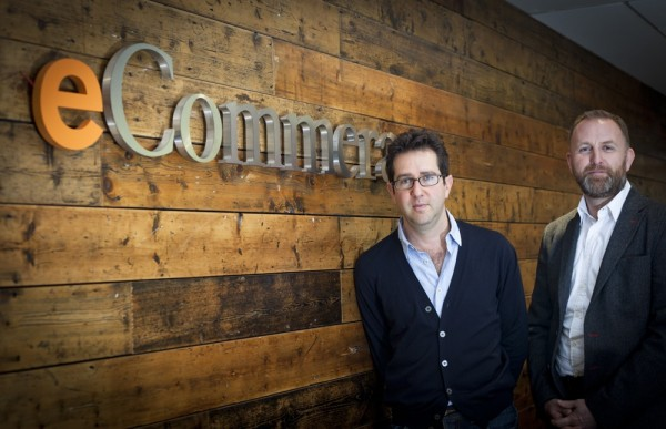 Ross (l) and McGregor: driving force behind eCommera