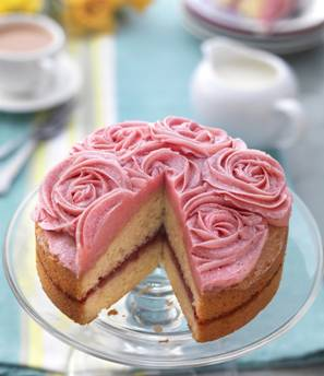 The Co Operative Food Launches Rose Topped Cake In Truly