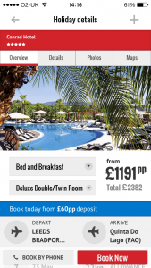 Tour operator, Jet2holidays, aims to transform holiday purchase experience with new transactional app