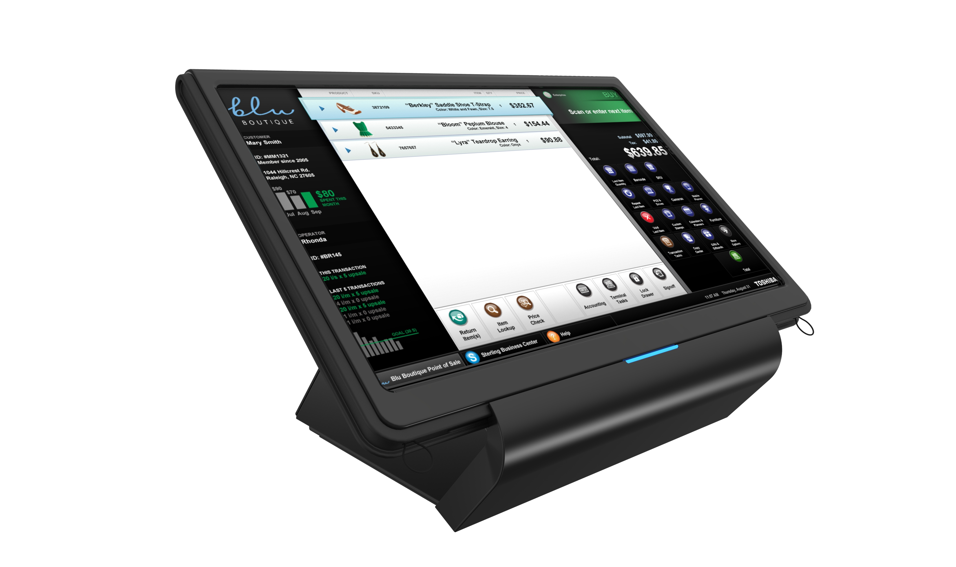 Toshiba Showcases Power Of Mobile Pos Solutions At Rbte