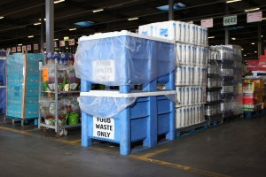 Supermarket Aldi makes electricity from waste food using Dolav plastic pallet boxes
