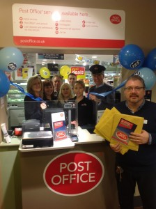 ISS Spar Longhoughton, Northumberland, launches Post Office services