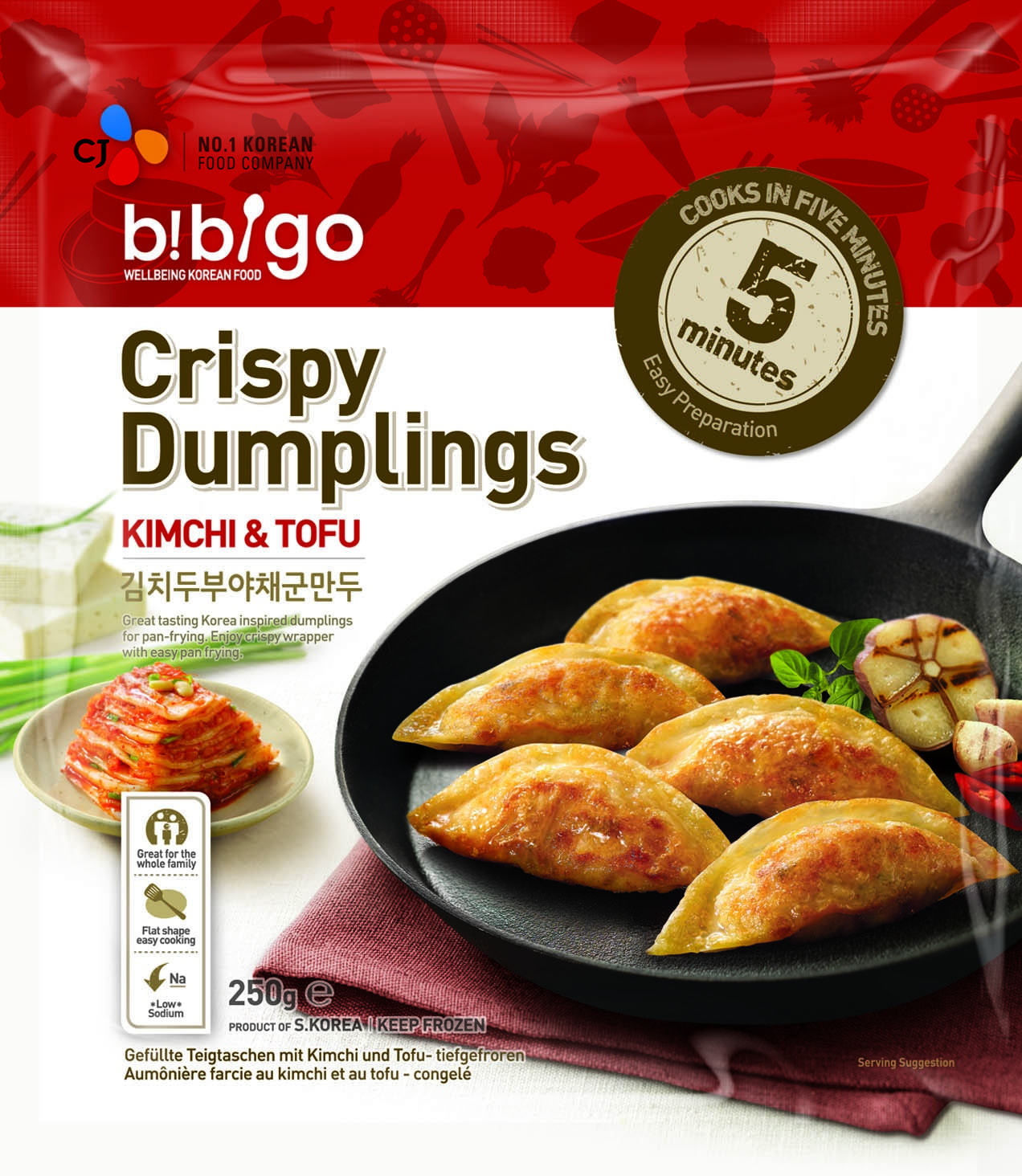 ... Foods brand, Bibigo, launches Kimchi and Tofu Dumplings - Retail Times