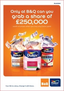 Dulux paint promotion
