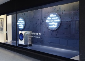 Cheil UK creates 'Beautifully Smart' in-store campaign for exclusive launch of Samsung's WW9000 in John Lewis