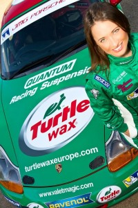 Turtle Wax ties sponsorship deal with TV presenter and racing driver, Rebecca Jackson, and Porsche team