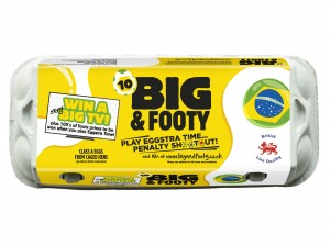 Egg brand, Big & Fresh, launches 'Big & Footy' on-pack promotion