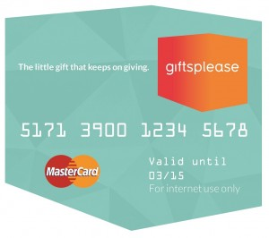 Pre-paid online gift card, Giftsplease, launches in the UK