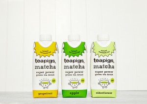New teapig green tea cartons