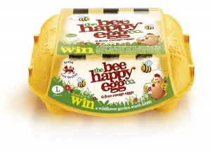 Ethical egg producer, the happy egg co., backs Britain's bees
