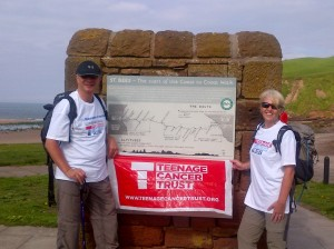 The Midcounties Co-operative chief executive, Ben Reid, tackles coast-to-coast for Teenage Cancer Trust