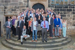 James Hall welcomes Spar's future leaders from around the world
