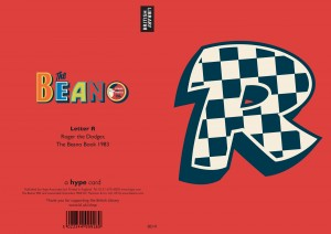 DC Thomson Consumer Products launches Beano Alphabet greetings cards at British Library