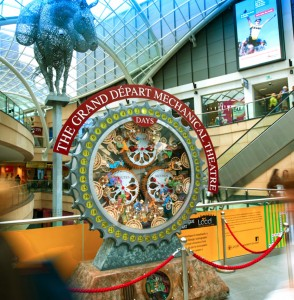 Trinity Leeds marks Grand Départ of Tour de France with countdown clock and pop-up shop