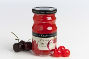 New brand image for Opies cocktail cherries
