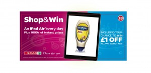 Spar targets younger shoppers with Shop & Win mobile marketing campaign