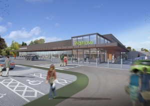 Barr Construction breaks ground on the new Waitrose in Milngavie