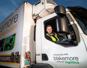 Blakemore Logistics develops drivers for the future with apprenticeship scheme